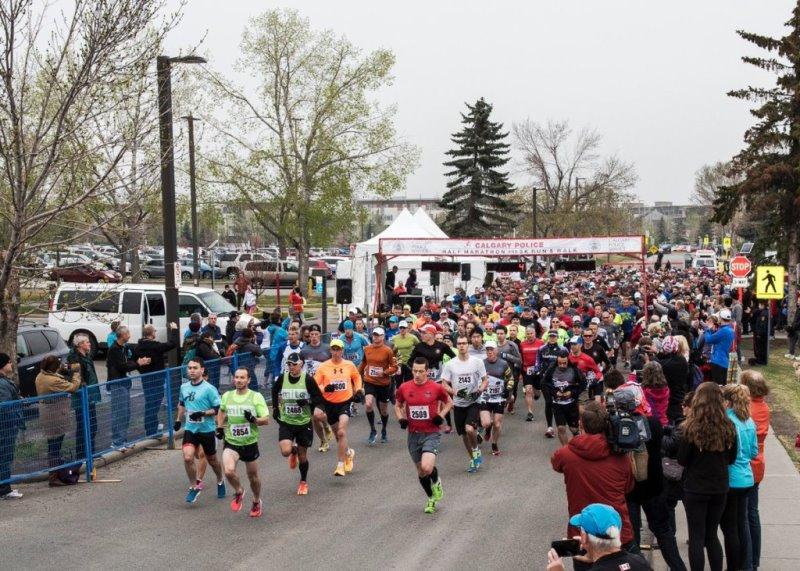 Calgary Police Half Marathon