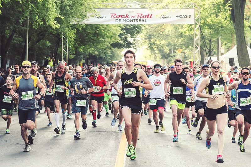 Marathon De Montreal