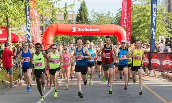 Scotiabank Vancouver Half-Marathon & 5K